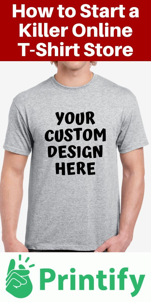 Your Custom Design Here | With Printify, you can create your