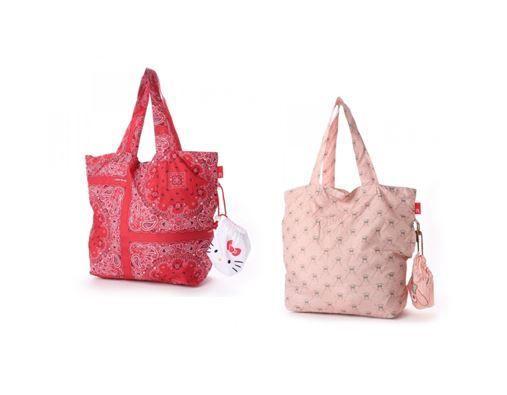 bd1dc5f83675 Hello Kitty   My Melody Eco Shopping Bag - sakuraya japan kawaii fashion   hellokitty  mymelody  ecobag  shoppingbag