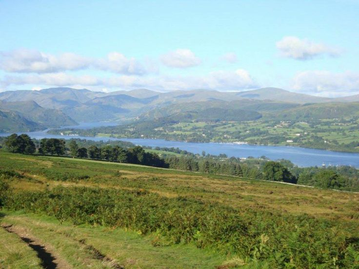 The view of Ullswater just a ten minute walk from High Winder.  What a lake!