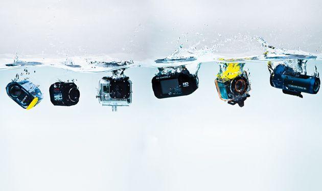 Waterproof camera reviews for kayaking and canoeing.