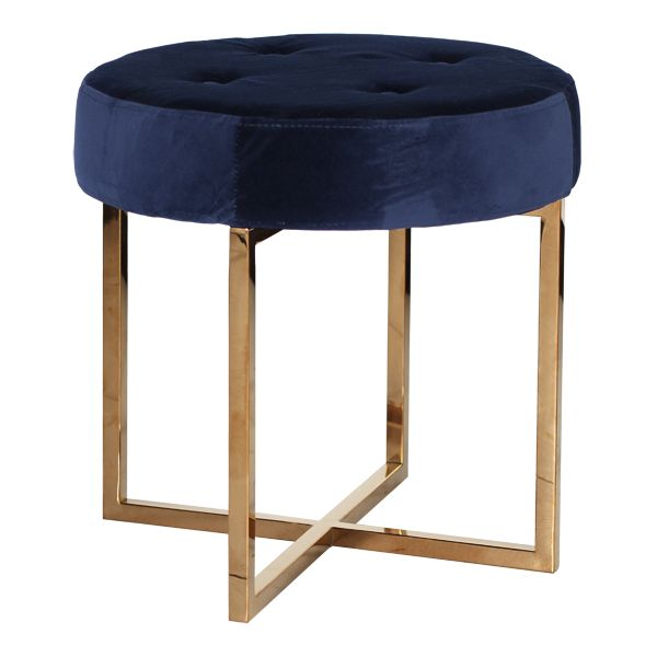 When Worlds Away married brass with velvet it resulted in the luxuriously opulent Melanie Navy Velvet Stool! This versatile seating can be used in a myriad ...  sc 1 st  Pinterest & 50 best 301W Bedroom - Benches Stools and Ottomen images on ... islam-shia.org