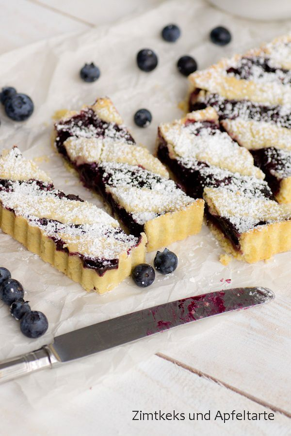 Blueberry-Tarte