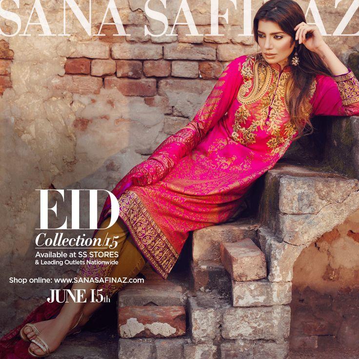 Sana Safinaz Designer Eid Lawn Collection 2015 http://clothingpk.blogspot.com/2015/06/sana-safinaz-designer-eid-lawn-collection-2015.html