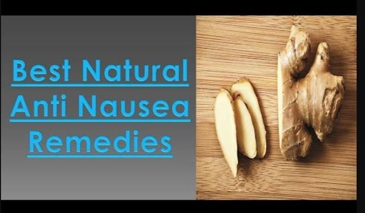 Natural Treatments and Remedies for Stopping Nausea  Discover three natural anti-nausea therapies  Whether that upset, queasy feeling in your stomach is a symptom of motion sickness, a side effect of pregnancy, or an aftereffect of a recent surgery, there are a number of quick and simple techniques you can try for stopping nausea. In particular, I...