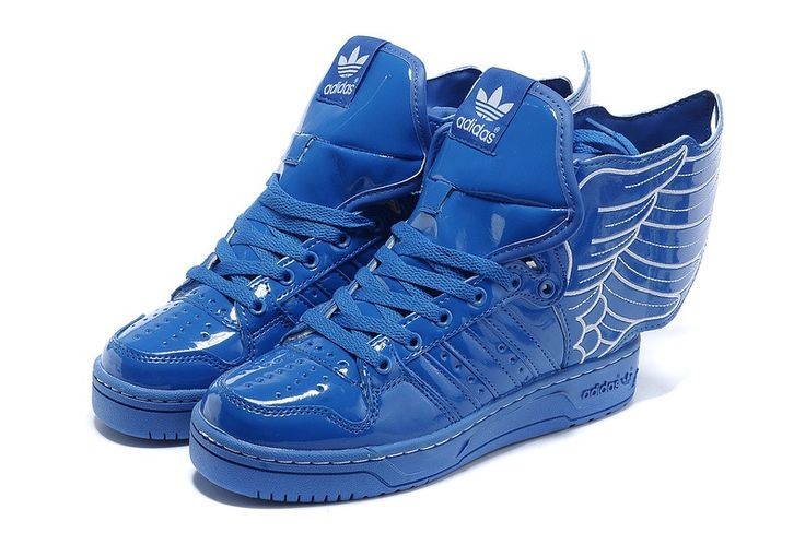 Jeremy Scott Adidas Tennis Colection 2013 Blue