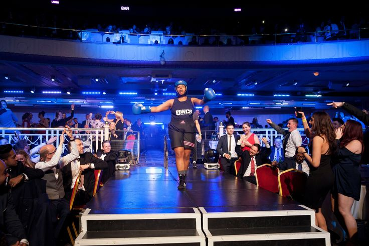 Ultra White Collar Boxing – in pictures