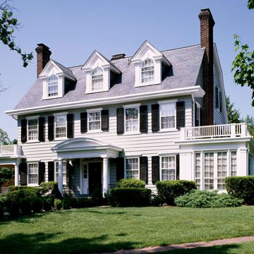 Top 25 ideas about center hall colonials on pinterest for Contemporary colonial architecture