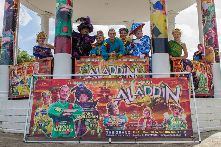 Had fun at our #GRANDPantoLaunch? - Grab the best seats NOW before the Christmas Rush! https://www.blackpoolgrand.co.uk/event/aladdin/