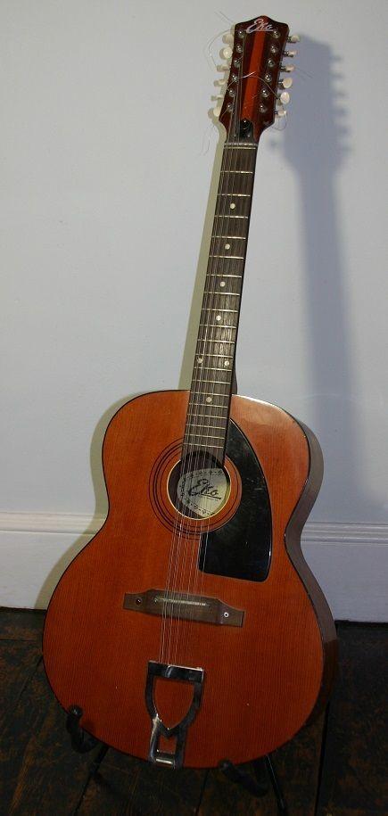 eko vintage 60 s 70 s 12 string acoustic guitar 12 string guitars 12 string acoustic guitar. Black Bedroom Furniture Sets. Home Design Ideas