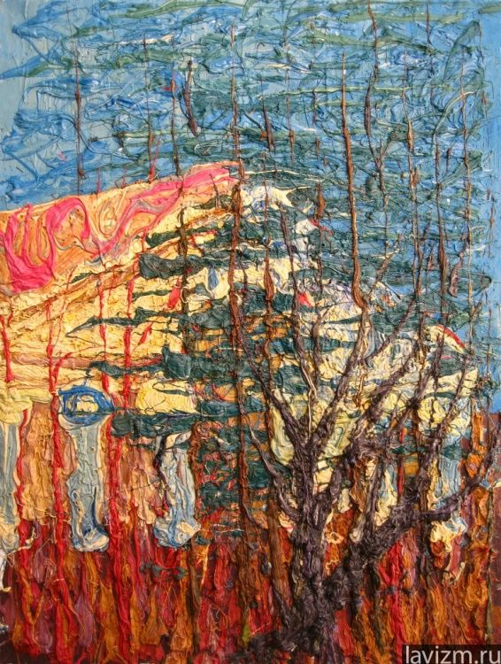Loris-Melikov (©2013 artmajeur.com/lorismelikov) Картина «Красная пахра» 2008 г.  Мастихин, масло, холст (80×60)  Константин Лорис-Меликов художник Картина Детский санаторий http://www.artmajeur.com/ru/artist/lorismelikov/portfolio/artwork/20/7358971 http://lavizm.ru/ #LAVIZM Konstantin Loris-Melikov #followback Contemporary #Art