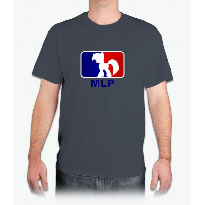 Major League Pony (MLP) - Twilight Sparkle - Mens T-Shirt