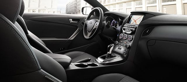 2013 Hyundai Genesis Coupe 3.8 Track review - interior - Subcompact Culture
