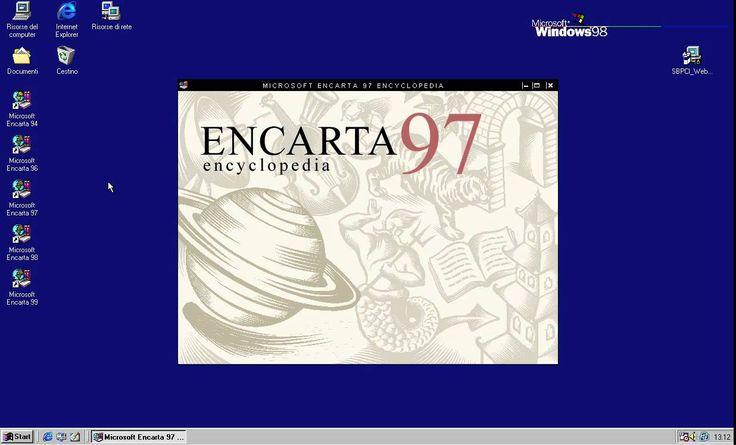 [OLD PC] Microsoft Enciclopedia Encarta 1997 - Intro Un gran recuerdo de mi infancia