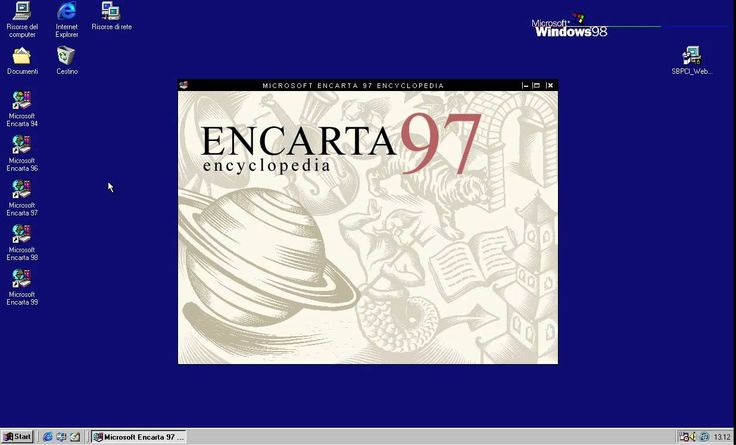 [OLD PC] Microsoft Enciclopedia Encarta 1997 - Intro
