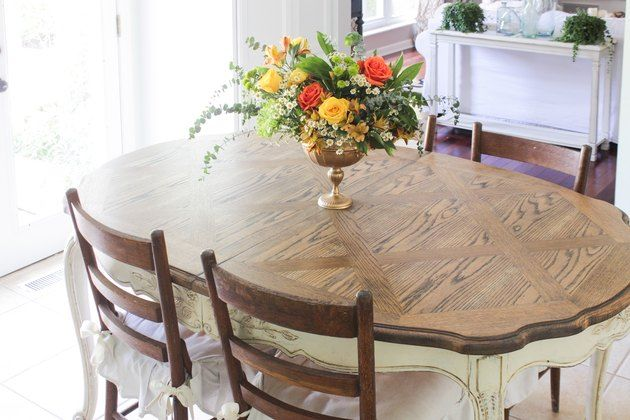 Refinished Oak Table With Images Refinish Dining Tables