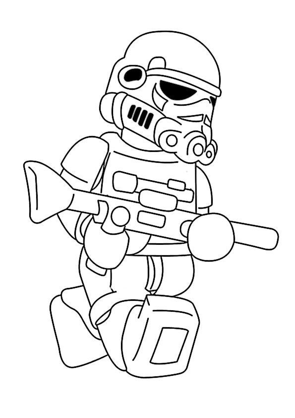 Coloring Page Star Wars Lego 9 Coloring Legodibujo Star Wars Malbuch Ausmalbilder Ausmalbilder Zum Ausdrucken