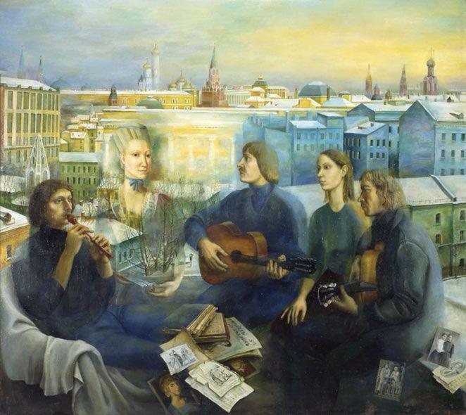 www.school.edu.ru :: Московский вечер. 1978. ГТГ