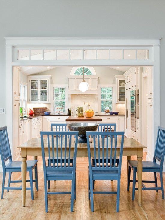 50 Desain Dapur Dan Ruang Makan Terbuka Jadi Satu Sederhana