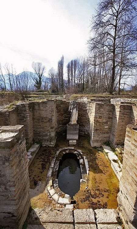 """At the foot of Olympus"".. The Ancient city of Dion, Katerini, Greece / by Makis Siderakis via Flick"