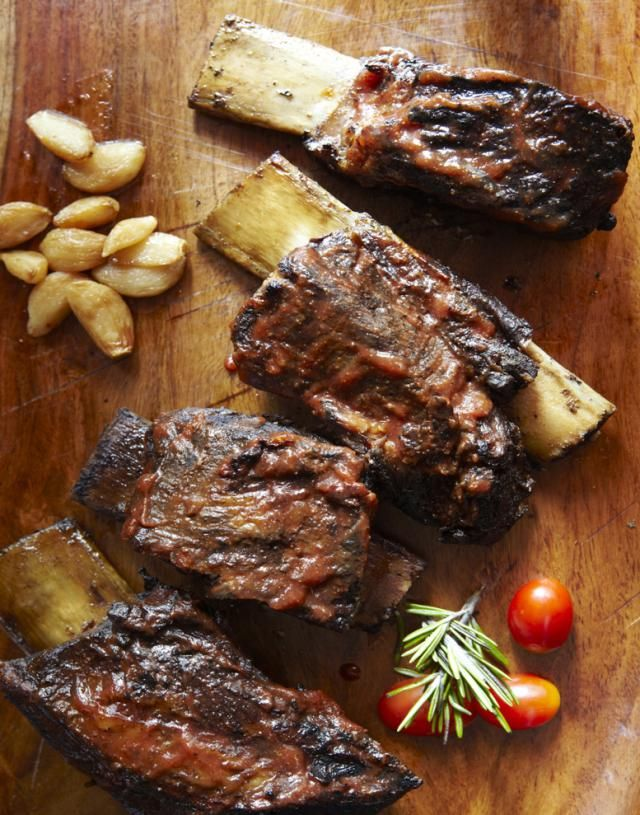 A simple barbecued beef rib recipe starts out in a Dutch Oven and ends up on your grill. While you won't get a lot of authentic smoke flavor you will certainly get some great, tender ribs.