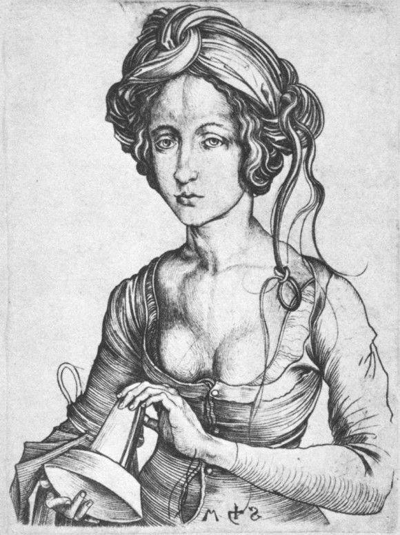 A Foolish Virgin - Мартин Шонгауэр. 1480 г.