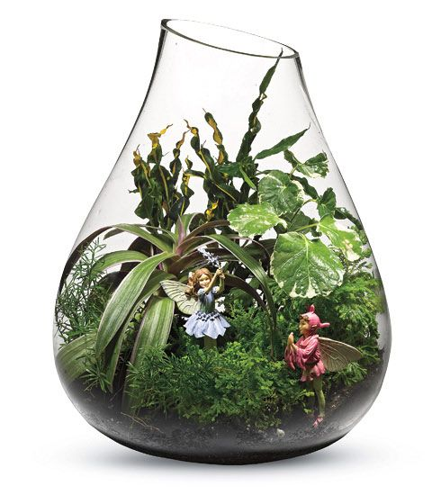 Fairies!  Gardening Naturally with Claudia: Miniature Gardens - Tabletop and Landscape
