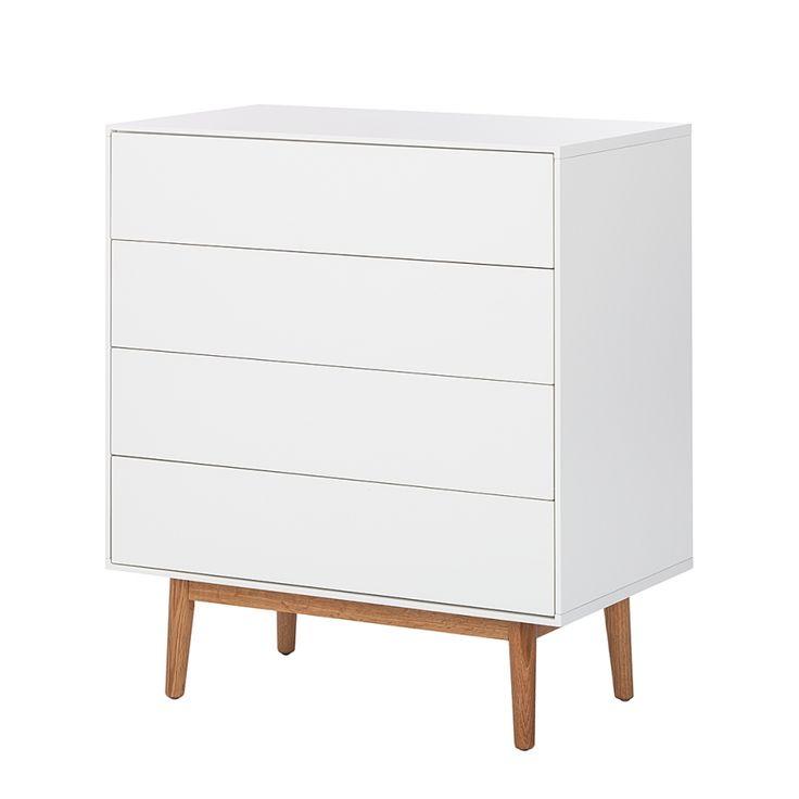 Kommode lindholm i solid oak colors and white oak wood for Sideboard lindholm