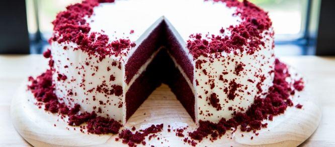 Heerlijke cake die er mooi uitziet