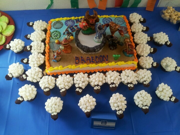 25 best Skylanders Cakecupcake images on Pinterest Skylanders