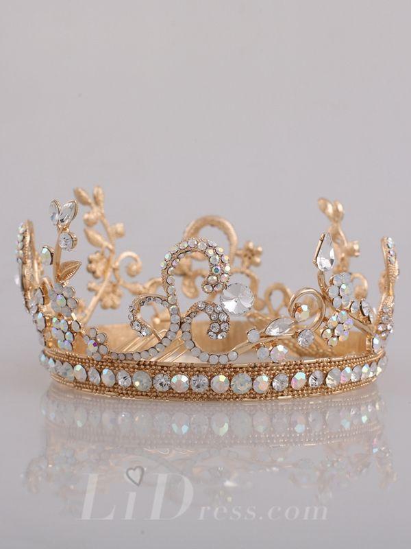 Diamonds Bridal Crown Head Pieces
