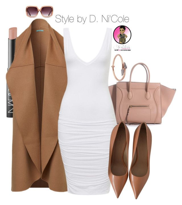 Untitled #2508 by stylebydnicole on Polyvore featuring polyvore, fashion, style, Katie Rowland, Matthew Williamson and NARS Cosmetics