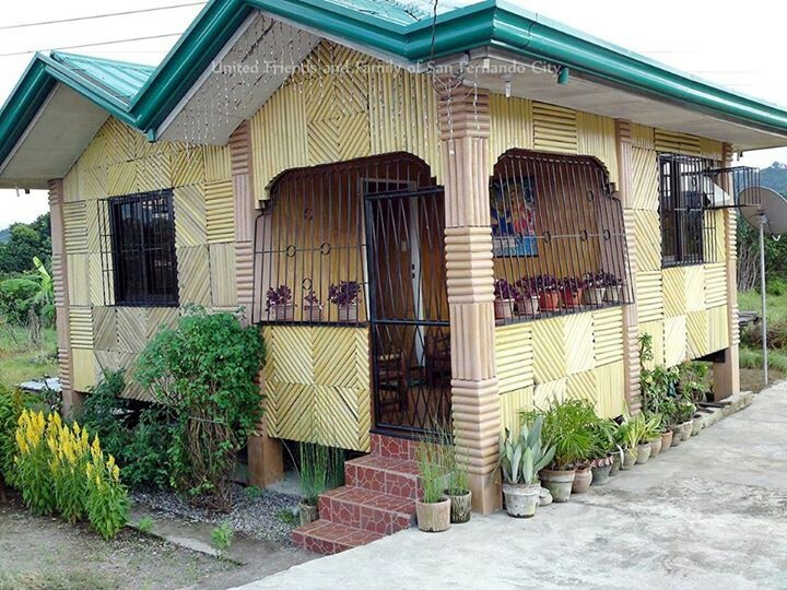 Bahay kubo bahay kubo pinterest simple and house for Home design ideas native