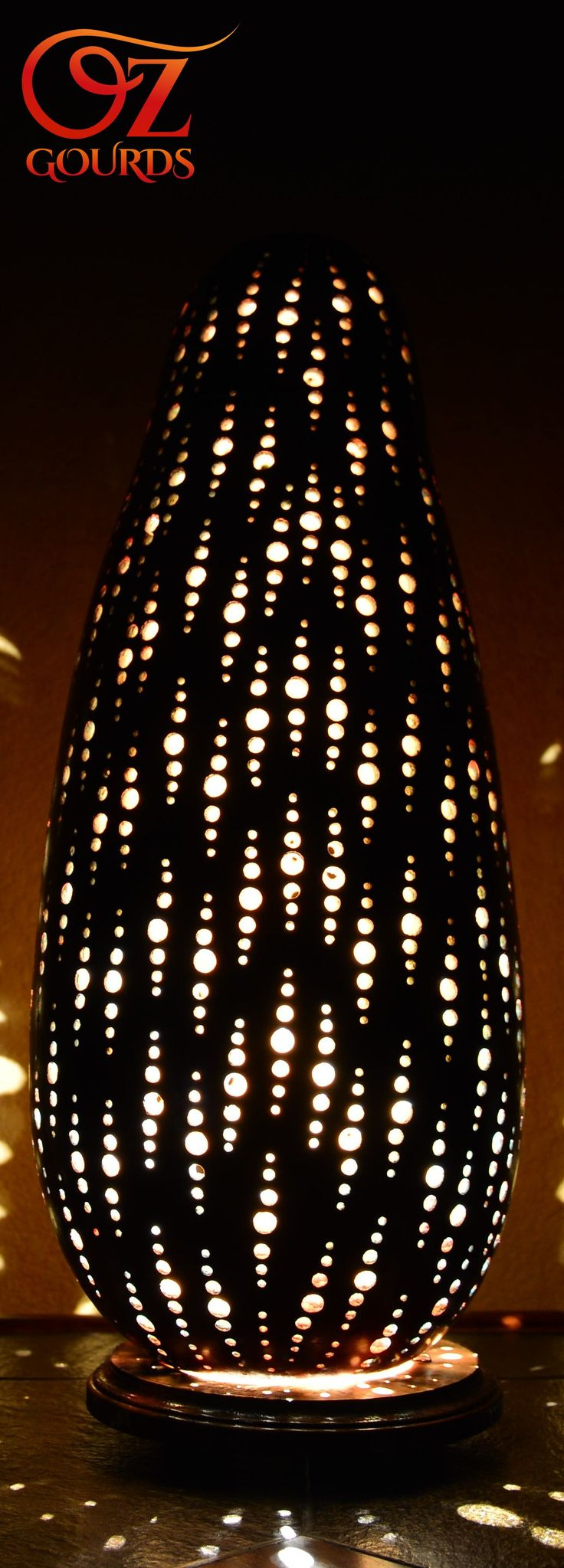 Gourd Lamp http://www.ozgourds.com