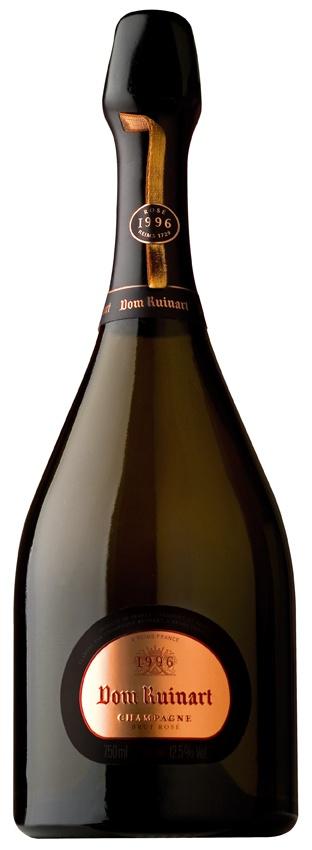 In the BOTTEL : Dom RUINART Champagne Brut Rosé 1996  Place of ORIGIN : Reims / Marne / CHAMPAGNE-Ardenne / FRANCE  █║▌║▌║││█║▌│║▌║ DrinkReporter®