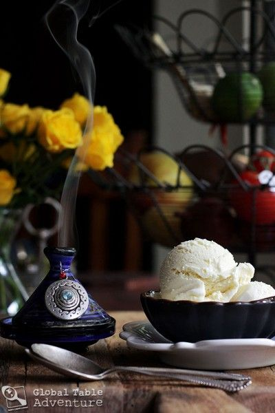 Frankincense Ice Cream ... As dreamy as incense but much, much sweeter | Oman