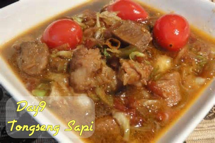 #30DaysChallengeRamadan #Day9 | Tongseng Sapi  Main course iftar hari ini. Berasa puasa di Indonesia.
