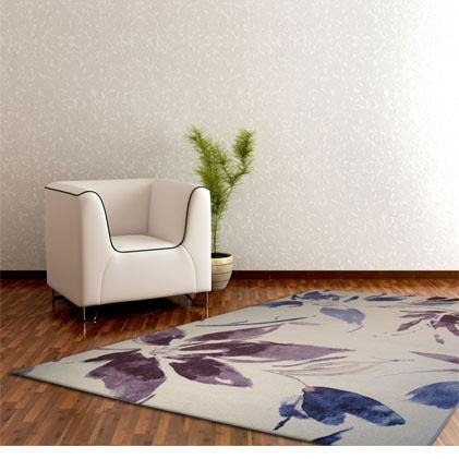 Tappeto moderno motivi floreali