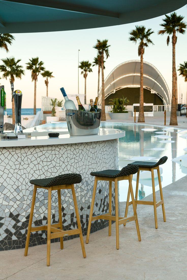 POINT. Marina Beach Club. Valencia Collections: ROUND, ARC and COLORS  #turismo  #turismocomunidadvalenciana #comunidadvalenciana #spain #españa #valencia #terrazas #terrazasvalencia #marinabeach #beach #playa #malvarrosa #marinabeachclub