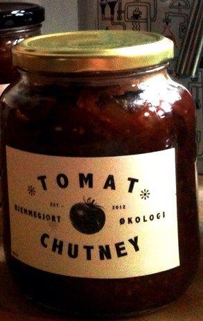 Hjemmegjort tomatchutney