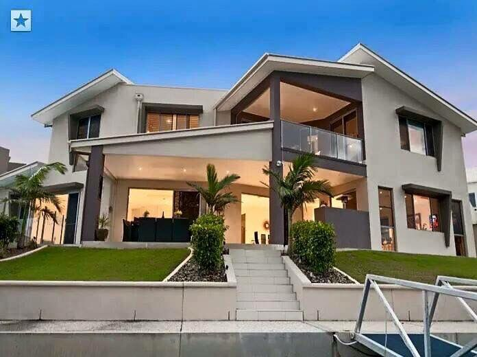 Casa por fuera casas casas casas modernas y fachada - Fachadas de casas bonitas por fuera ...