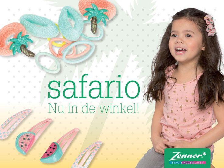 De nieuwe Safario kids collectie bevat vrolijke en exotische producten en prints