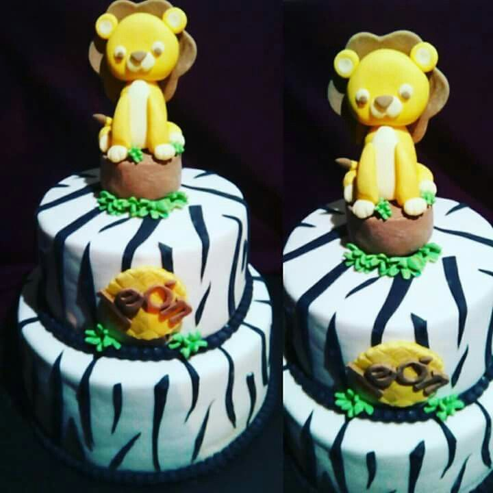 Torta Baby Shower Animalitos