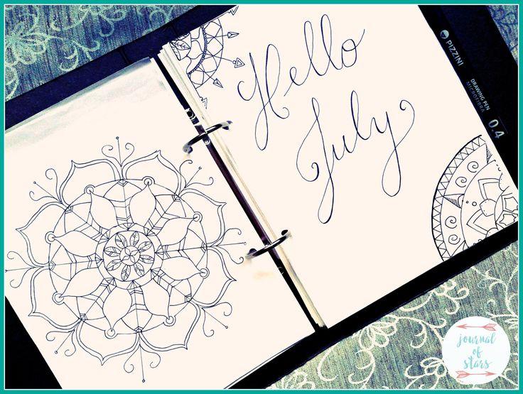 Today I am giving you an inside look into my bullet journal/planner hybrid.   Bullet Journal   Planner   Lettering   Mandala  