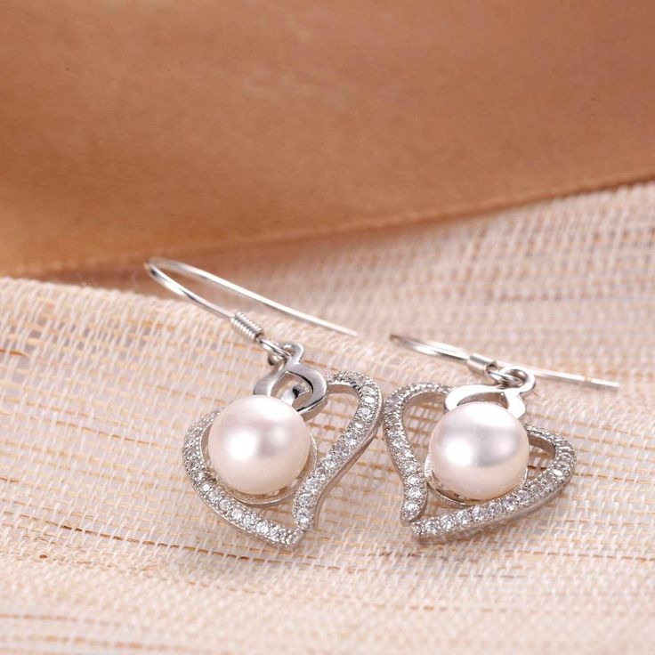 UneJoux Sterling Silver Freshwater Pearl Earrings - UneJoux