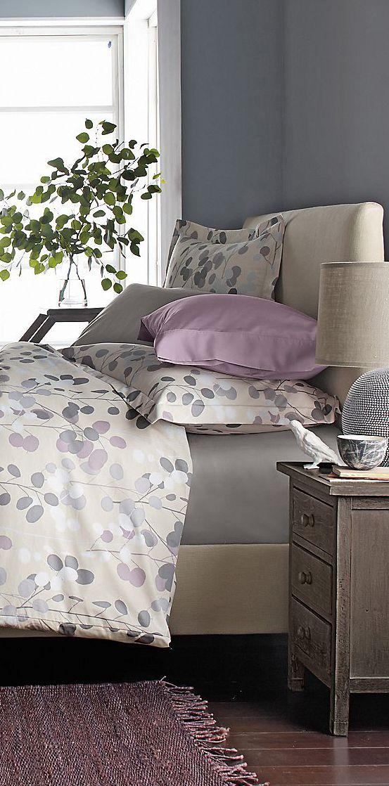 Paper Leaf Wrinkle Free Duvet Collection Bedding