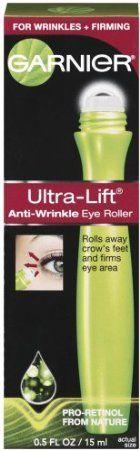 Garnier Skincare Ultra-lift Anti-wrinkle Eye Roller, 0.5-Fluid Ounce  //Price: $ & FREE Shipping //     #hair #curles #style #haircare #shampoo #makeup #elixir