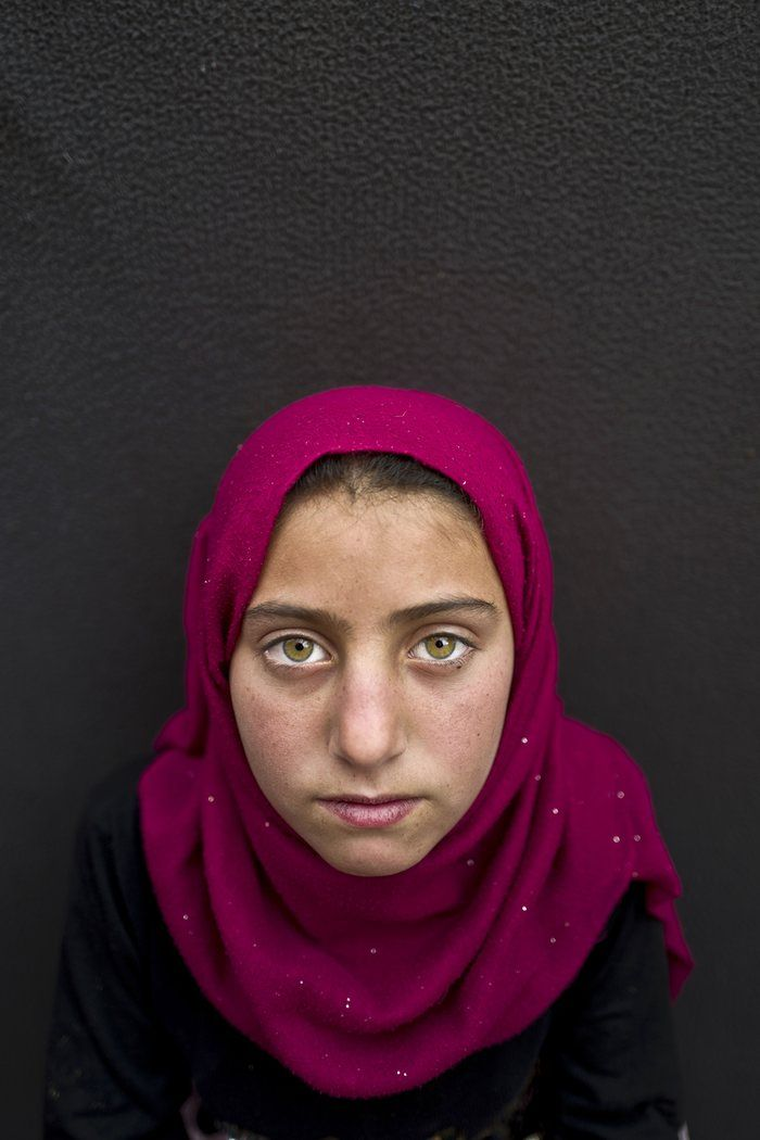 17 Portraits of Syrian Refugees Child By Israeli Photographer Muhammed Muheisen