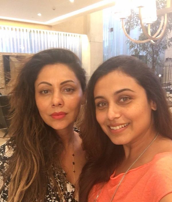 """Gauri Khan and Rani Mukerji met up over coffee and had a fun time. How do we know? Well Gauri's tweet about the evening surely hints at that. She writes, """"Welcome Rani… no hair, no make up, no filters…. coffee with Rani #gaurikhandesigns."""" The selfie has both the ladies looking really... http://indytags.com/gauri-khan-welcomes-rani-mukerji-with-no-hair-no-makeup-and-no-filters-view-pic/"""
