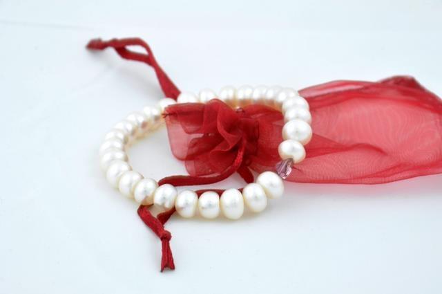 pearls and swarovski elements