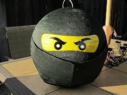 Lego Ninjago piñata